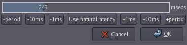 Latency current