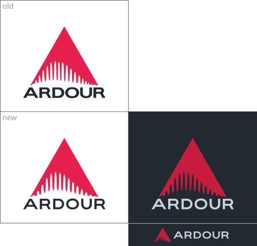 ardour_logo_old_and_new